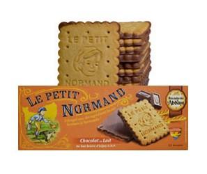 Le Petit Normand nappé chocolat lait