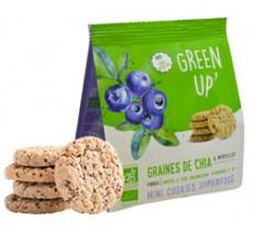 Green up graines de chia myrtilles