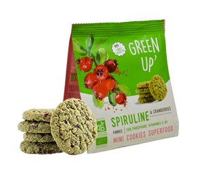 ccokies spiruline cranberries Green Up'