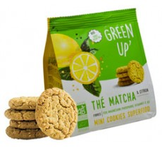 green up cookies thé matcha citron
