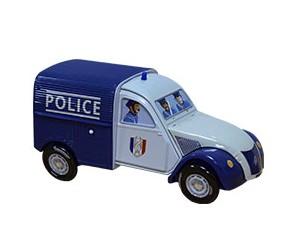 Boite 2CV Police