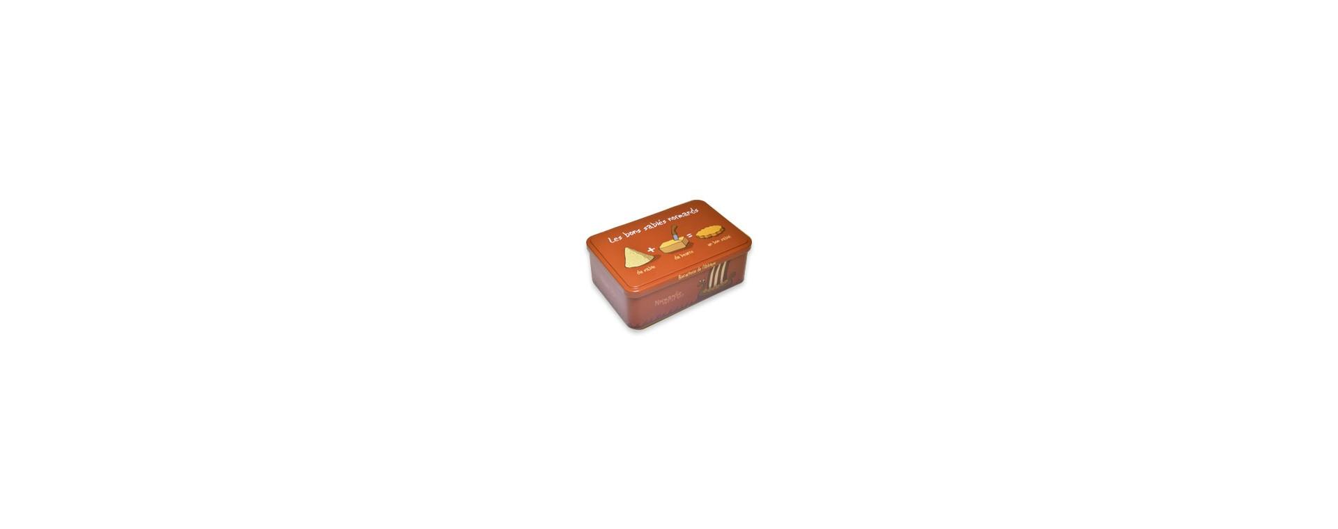 Boîte à sucre - Heula Les Bons Sablés Normands