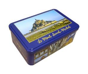 boite à biscuits le mont saint michel