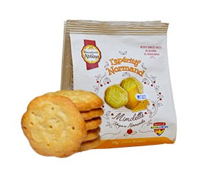 Biscuits salés mimolette