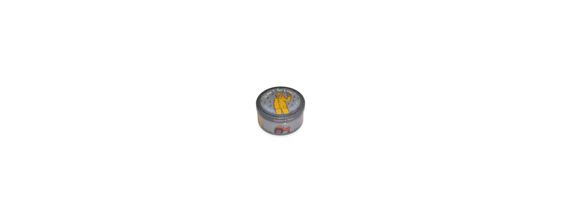 Petite boîte ronde Heula La Pluie