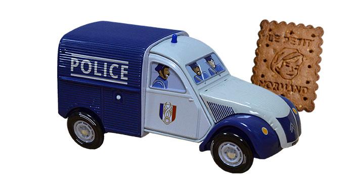 Voiture 2CV Police
