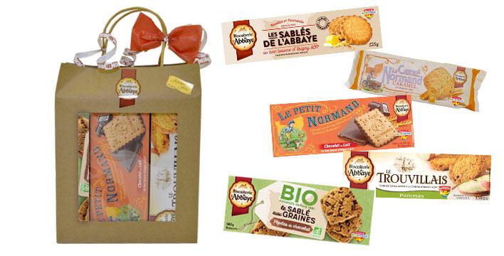 sac cadeau biscuits