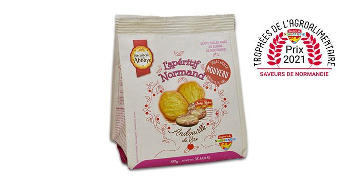 biscuit apéritif andouille