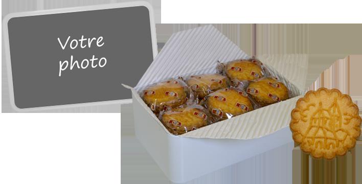 boite à biscuits personnalisée