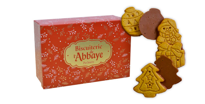 boite festive rouge
