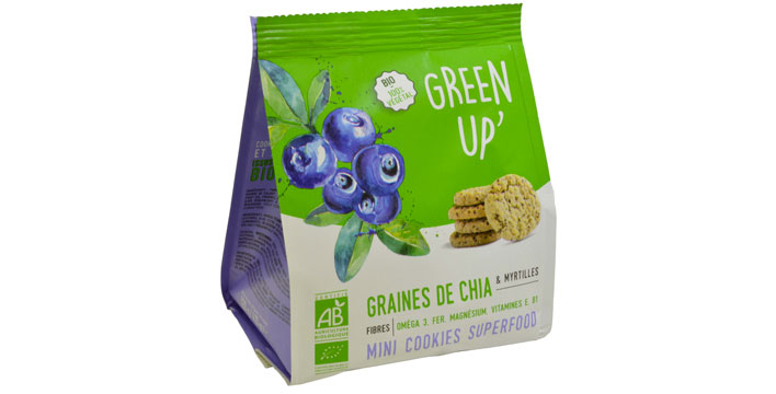 green up blueberries cookies