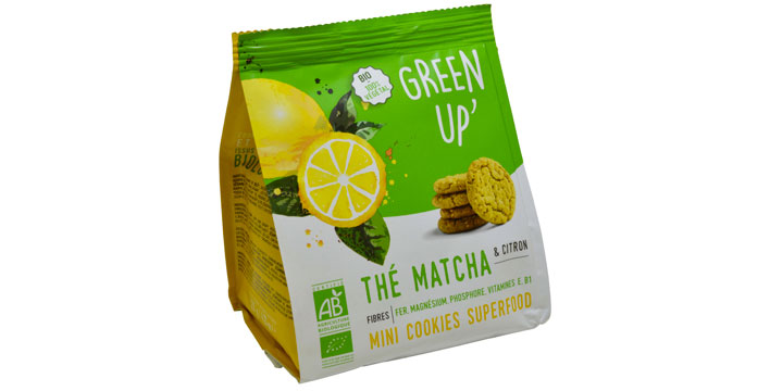 green up ccokies the matcha citron