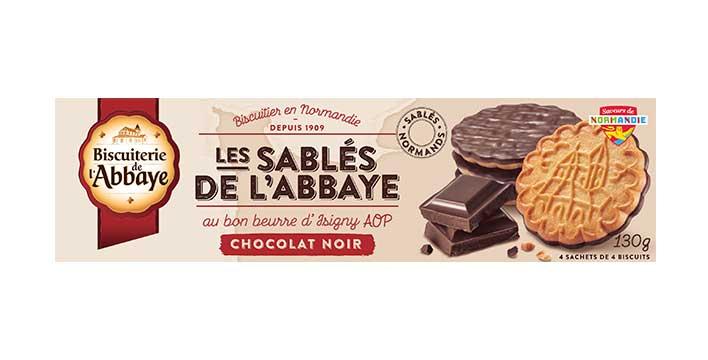 Sablés de l'Abbaye Chocolat noir