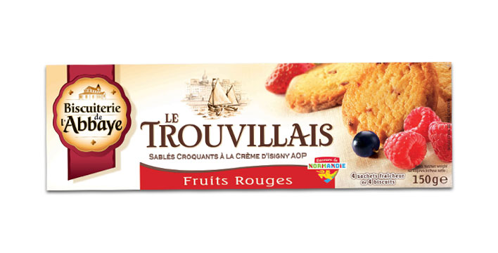 sablés aux fruits rouges